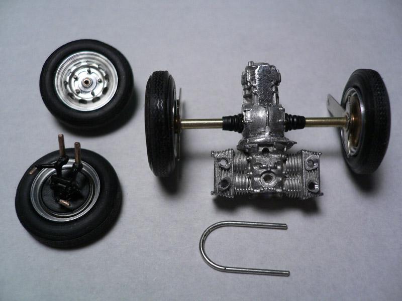 Bosica Porsche 356 Speedster 製作工程3