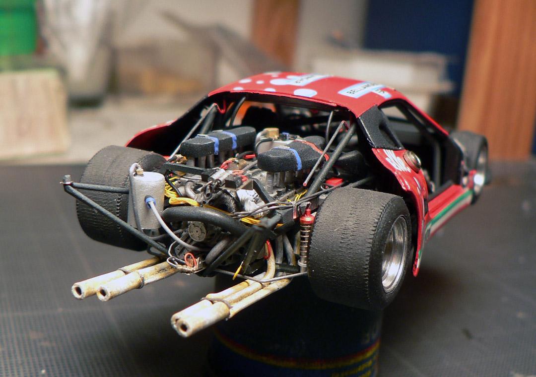 Make A Car >> Built Up Models 1/43 Ferrari 512BB Bellancauto LeMans 1984